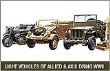 ACAD13416 - 1/72 Scale - Ground Vehicle Series 1 - Light Vehicles of Allied and Axis During WWII