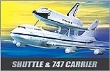 ACAD12708 - 1:288 Scale - Space Shuttle & Transport
