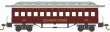 "BACH13409 - HO Scale - 1860-1880 Passenger Car - Coach - Durango and Silverton #270 ""Yankee Girl"""