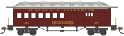 HO Scale - 1860-1880 Passenger Car - Combine - Durango and Silverton #150