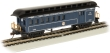BACH15205 - HO Scale - Old Time Combine With Rounded End Clerestory Roof - B&O - Royal Blue