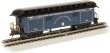 BACH15305 - HO Scale - Old Time Baggage Car With Rounded End Clerestory Roof - B&O - Royal Blue