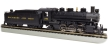 BACH51527 - HO Scale - Prairie 2-6-2 - Baltimore and Ohio #2451