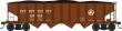 BOWS42042 - HO Scale - H21a 4 Bay Hopper - PRR #188269