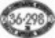 CMD110032 - Diesel Cab Number Plate