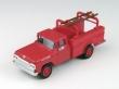 MINI30461 - 1:87 Scale - '60 Ford Utility Truck - Monte Carlo Red