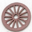 CKM119 - 14mm Wagon Wheels