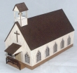 CKM146 - HO Scale - Old West Church