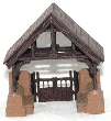 CKM165 - HO Scale - Church Lynch Gate