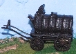 CKM112 - 1:87 Scale - Horse Drawn Tank Wagon 1 - Ready built