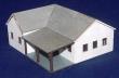 CKM263 - HO Scale - Karoo Farm House