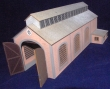 CKM175 - HO Scale - Loco Shed