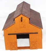 HO Scale - Old West Barn