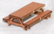 CKM274 - HO Scale - Picnic Table and Benches 1 - Kit