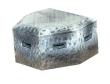 CKM342 - HO Scale - Pillbox - Battle Damage