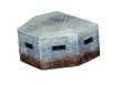 CKM343 - HO Scale - Pillbox - No Damage