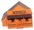 CKM164 - HO Scale - Sheriff Building