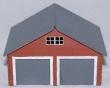 CKM230 - HO Scale - Double Standard Garage