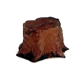 CKM371 - HO Scale - Tree Stump - Unpainted
