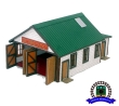 CKM380 - HO Scale - Vintage Fire Station - Wood