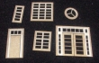 CKM128 - HO Scale - Window and Door Assortment