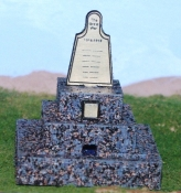 HO Scale - War Memorial - Pilgrim's Rest