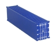 CKM368 - HO Scale - 40 Foot Shipping Container - Unpainted
