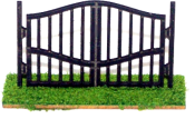 HO Scale - Wrought Iron Gate 2