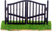 CKM285 - HO Scale - Wrought Iron Gate 2