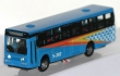 HERP063670 - 1:160 Bus Type 2 With Working Lights - Assembled -- Blue, Orange, White