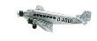 HERP516709 - 1:500 Scale Junkers JU 52/3m - Lufthansa