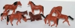 CKMF1 - HO Scale - Assorted Horses