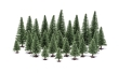 HORNR7199 - Fir Trees - 5 - 14cm - 20 Pieces