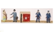 LANGF75G - Unpainted - Post Office Fittings and Figures