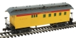 MANT715110 - HO Scale - 1890 Wooden Passenger Car UP - Combine