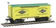 MANT721322 - HO Scale - Wooden Vintage Freight Car - Hammond Co. - 1860 Wood Reefer