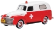 OXFO87CV50001 - 1:87 Scale - Chevrolet Panel Van 1950 - Ambulance
