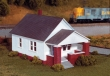 RIX628-0202 - HO Scale - Single Story House With Front Porch