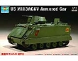 TRUMP07237 - 1:72 Scale - US M113ACAV Armored Car