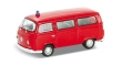 VOLL41689 - 1:87 Scale - Volkswagen Bus T2 - 1972 - Red