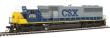WALT910-19755 - HO Scale - EMD SD60 Locomotive - CSX #8790 (Sound and DCC)