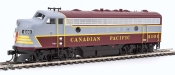 HO Scale - EMD F7A Locomotive - Canadian Pacific #4100 - DCC Sound