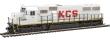 WALT910-20358 - HO Scale - EMD SD50 Locomotive - Kansas City Southern #711 - DCC and Sound