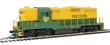 WALT910-20459 - HO Scale - EMD GP9 HH Ph II Locomotive - Precision National #136 - DCC Sound