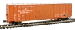 WALT910-2148 - 50' ACF Exterior Post Boxcar - Moscow Camden & San Augustine #6123