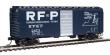 WALT910-2393 - HO Scale - 40' PS-1 Boxcar - RF & P #2873