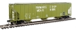 "WALT920-106136 - HO Scale - 58' Evans 4780 Cu Ft 3 Bay Covered Hopper - ""Farmers COOP Assn USLX #2676 (Mead)"""