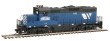WALT931-119 - HO Scale - Montana Rail Link GP9M Locomotive