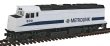 WALT931-403 - HO Scale - F40PH Locomotive - Metrolink
