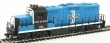 WALT931-451 - HO Scale - Boston and Maine GP9M Locomotive